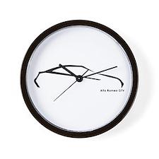 Alfa Romeo Gtv Wall Clock