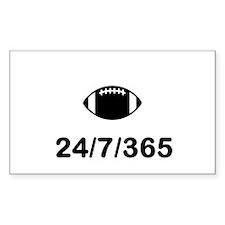 Football 24/7/365 Decal