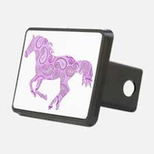 Purple Paisley Horse Hitch Cover