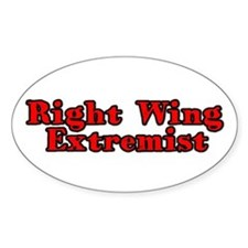 Right Wing Extremist Decal