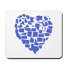 South Carolina Heart Mousepad