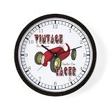 Race car Basic Clocks