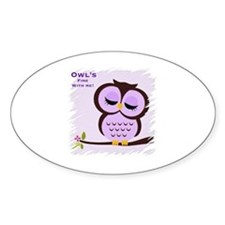 Owl's fine with me!  Decal