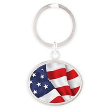Flag Square Keychains