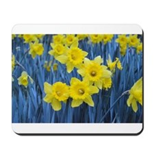 Daffodil Invasion Mousepad