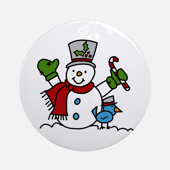 Christmas Hugs Ornament (Round)