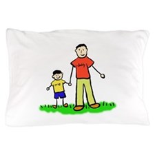 Father and Son Pillow Case