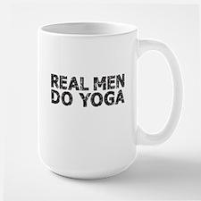 REAL MEN DO YOGA Mugs