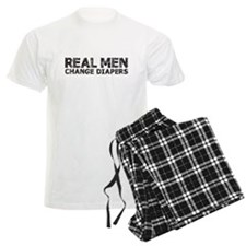 Real Men Change Diapers Pajamas