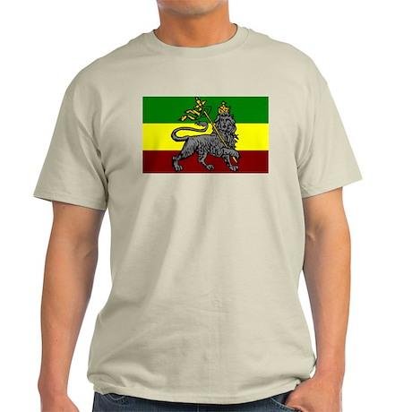 Rastafarian Flag Light T-Shirt