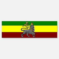 Rastafarian Flag Bumper Bumper Bumper Sticker