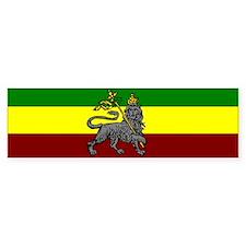 Rastafarian Flag Bumper Bumper Sticker