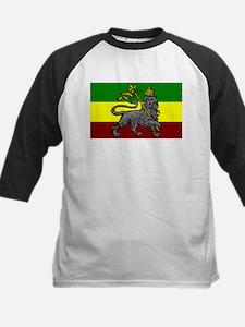 Rastafarian Flag Kids Baseball Jersey