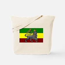 Rastafarian Flag Tote Bag