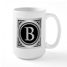 Deco Monogram B Mugs