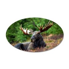Majestic Moose Wall Decal