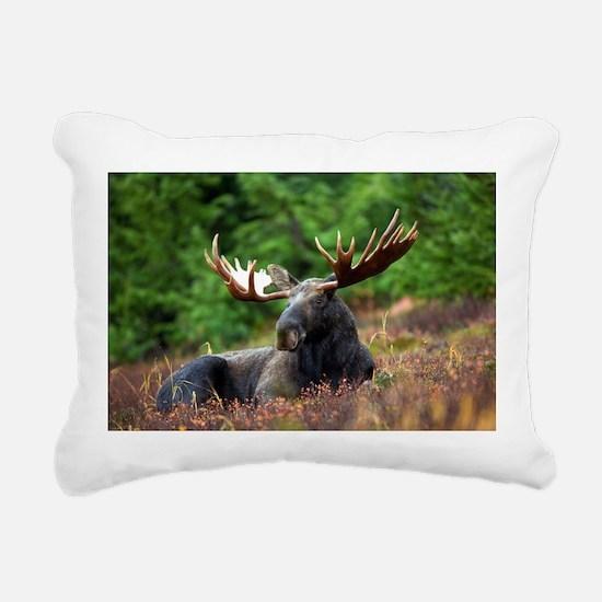 Majestic Moose Rectangular Canvas Pillow