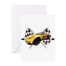 Funny Lotus cars Greeting Card