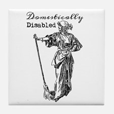 Domestically Disabled Tile Coaster
