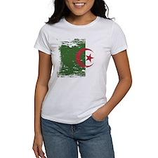 Grunge Algeria Flag Tee