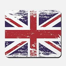 Grunge England Flag Mousepad