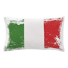 Grunge Italy Flag Pillow Case