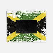 Grunge Jamaica Flag Picture Frame