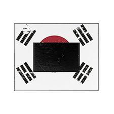 Grunge South Korea Flag Picture Frame