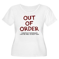 Out of order Plus Size T-Shirt