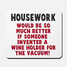 Housework Mousepad