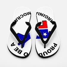 Proud Virginia Democrat Flip Flops