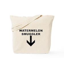 WATERMELON SMUGGLER Tote Bag
