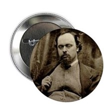 "Gabriel Rossetti 2.25"" Button (10 pack)"