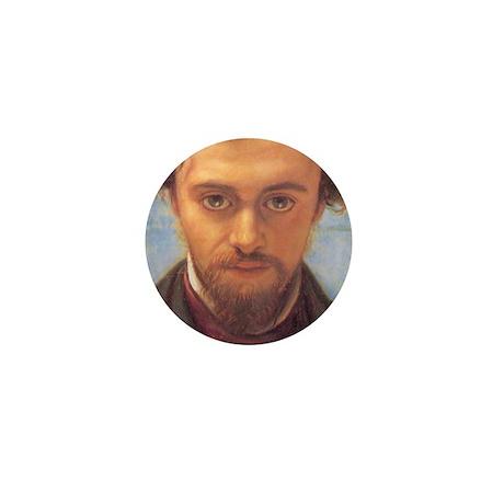 Gabriel Rossetti Mini Button