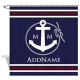 Anchor Shower Curtains