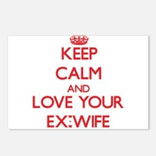 Keep Calm and Love your Ex-Wife Postcards (Package