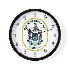 USS John Paul Jones DDG-53 Wall Clock