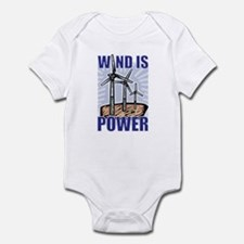 Wind Is Power Infant Bodysuit