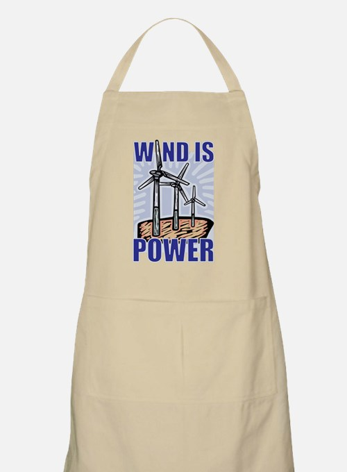 Wind Is Power BBQ Apron