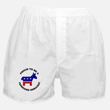 Proud Tennessee Democrat Boxer Shorts