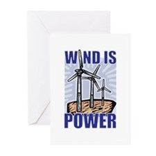 Wind Is Power Greeting Cards (Pk of 10)