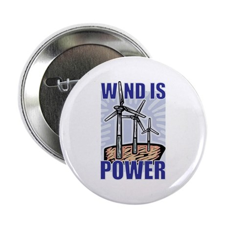 """Wind Is Power 2.25"""" Button (10 pack)"""