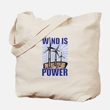 Wind Is Power Tote Bag