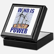 Wind Is Power Keepsake Box