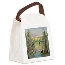 On Jeems Bayou Canvas Lunch Bag