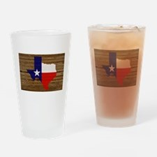 Great Texas v1 Drinking Glass