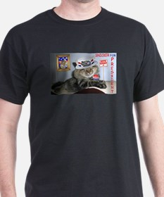 Snicker for President T-Shirt