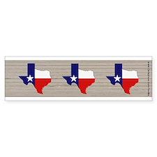 Great Texas Flag V2 (bumper) Bumper Bumper Sticker