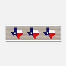 Great Texas Flag v2 Car Magnet 10 x 3