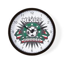 Mexico Soccer Ball Wall Clock